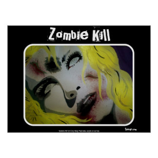 "Poster Do ""poster do matar zombi"""