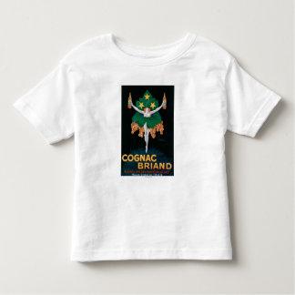 Poster do promocional de Briand do conhaque Tshirt