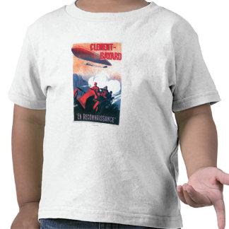 Poster do promocional do dirigível de Adjudant Camiseta