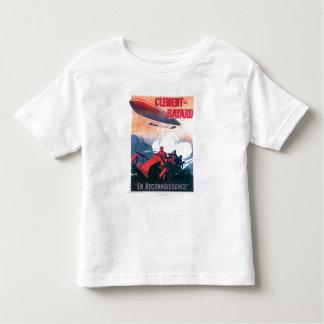 Poster do promocional do dirigível de Adjudant Tshirt