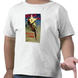 Poster do promocional do restaurante de D Or de ra Camiseta