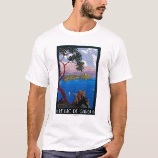 Poster do promocional do viagem de Garda do lago Camiseta