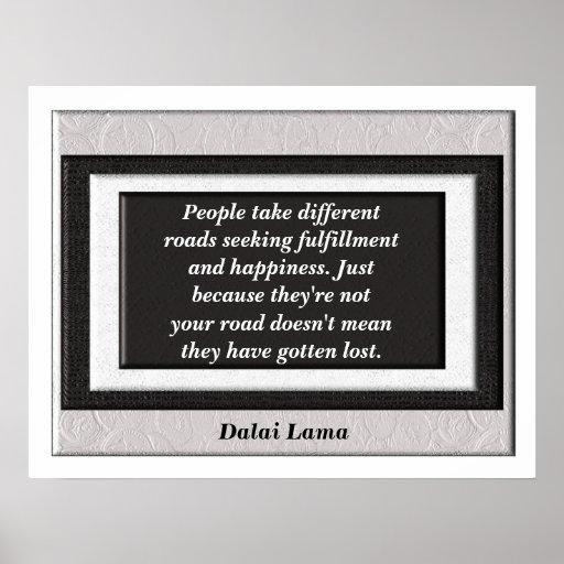 Poster do _Quote de Dalai Lama