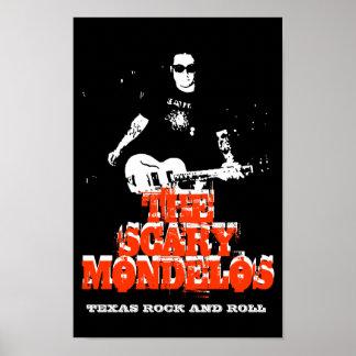 Poster do rock and roll de Texas Pôster