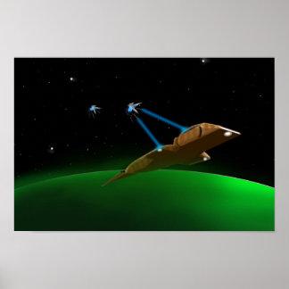 Poster do Scifi de Starship Pôster