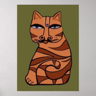 Poster do tigre do tigre