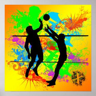 Poster do voleibol