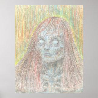 Poster do zombi pôster