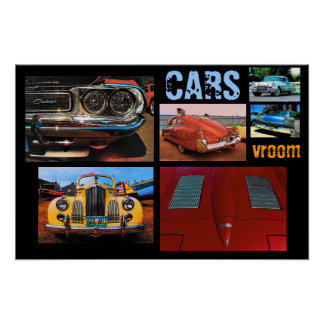 Poster dos CARROS Vroom