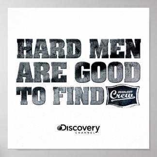Poster duro dos homens