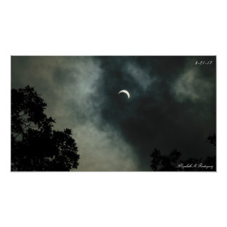 Poster eclipse solar 2017