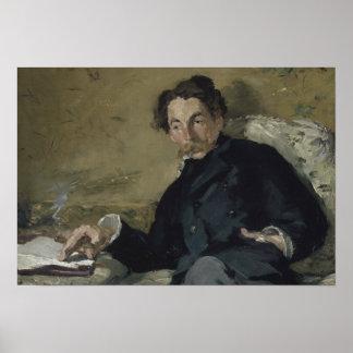 Póster Edouard Manet - Stephane Mallarme