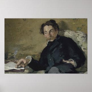 Poster Edouard Manet - Stephane Mallarme