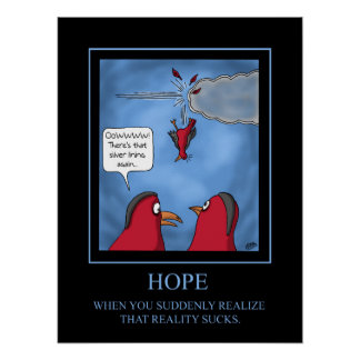 Poster engraçado: Poster da esperança