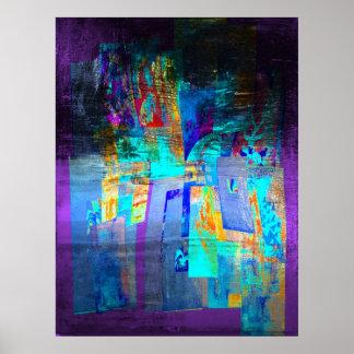 Poster espécie de moderno Pixelsign