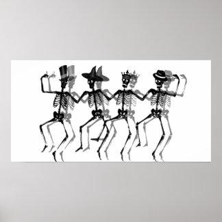 Poster Esqueletos da dança (HolidayMix)