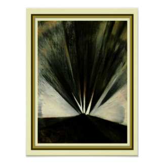"Poster ""Explosão"" 1916 por Christopher Nevinson 12 x 16"