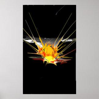 Póster Explosão de Sun
