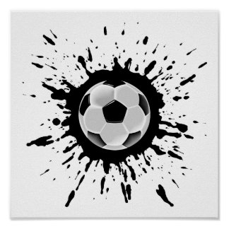 Poster Explosão do futebol