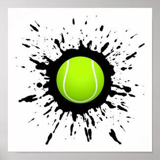 Póster Explosão do tênis