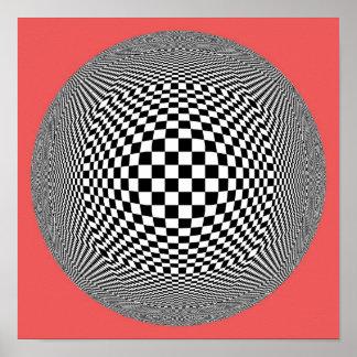 Poster feito sob encomenda da arte abstracta