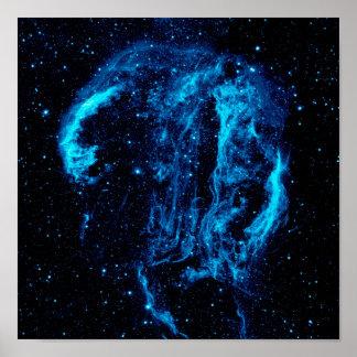 Poster Foto da NASA do resto do Supernova da nebulosa do