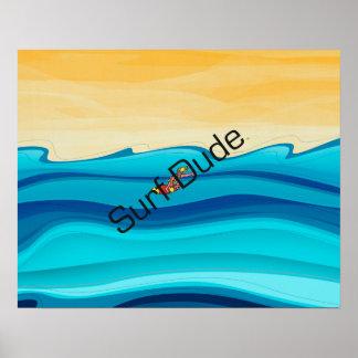 Poster Gajo SUPERIOR do surf