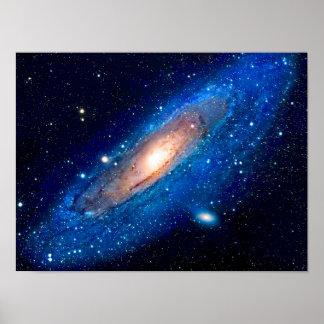 Póster Galáxia do Andromeda