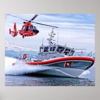Póster Guarda costeira na ação II