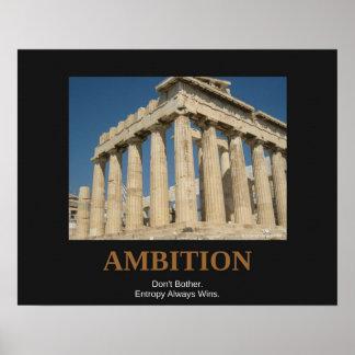 Poster Hearted claro - olhe a ambição da vida real