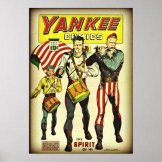 Póster História em quadrinhos #2 do ianque