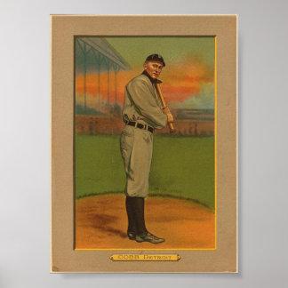 Poster histórico do basebol