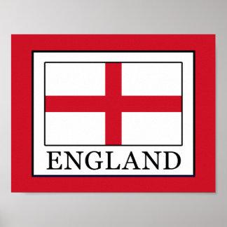 Póster Inglaterra