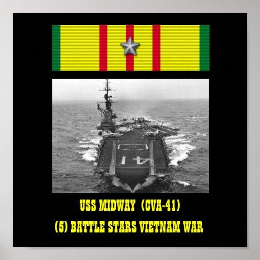 POSTER INTERMEDIÁRIO DE USS (CVA-41)