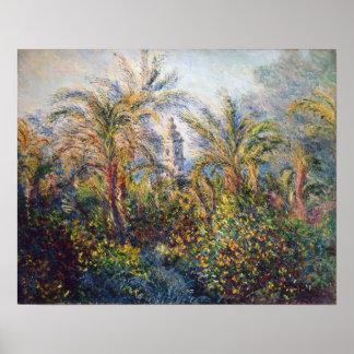 Poster Jardim de Claude Monet | em Bordighera