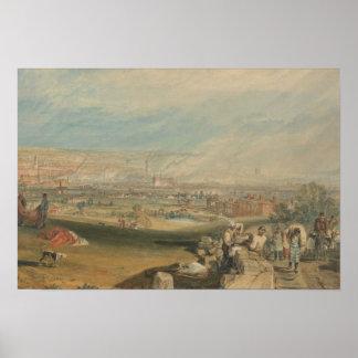 Póster Joseph Mallord William Turner - Leeds