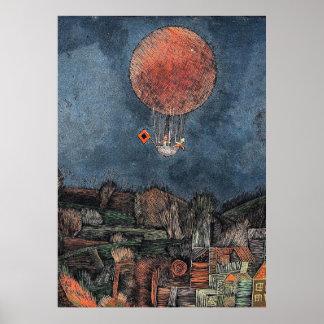 Póster Klee - Der Luftballoon