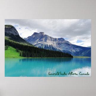 Poster Lago esmeralda