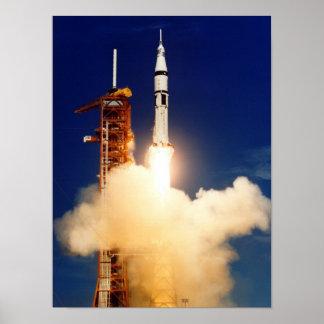 Póster Lançamento de Apollo (projeto do teste de