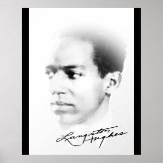 Póster Langston Hughes