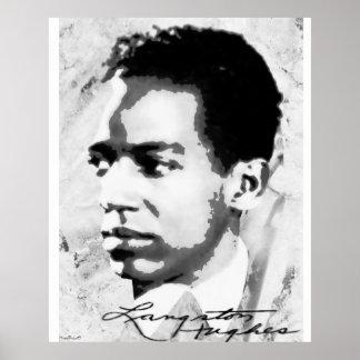 Poster Langston Hughes