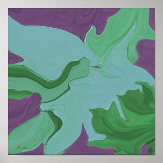 Poster legal da arte abstracta
