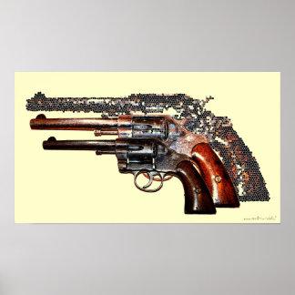 Poster legal da fotografia das armas