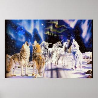 Poster majestoso dos animais