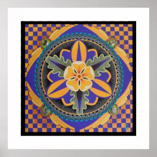 Poster Michelle Andrews da arte abstracta
