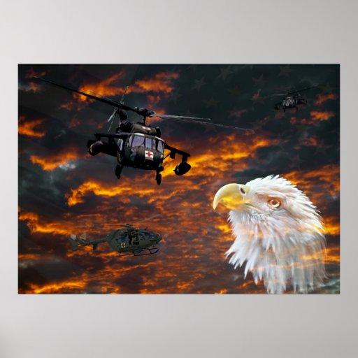 Poster militar dos médicos