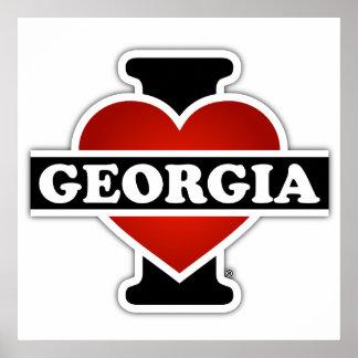 Póster Mim coração Geórgia