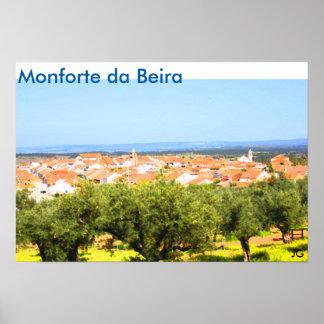 Poster Monforte da Beira