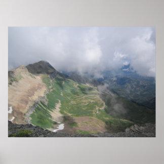 Poster Montanhas bonitas