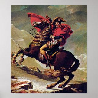 Poster Napoleon Bonaparte a cavalo